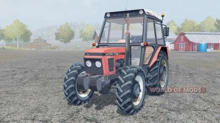 Zetor 7745 front loader для Farming Simulator 2013