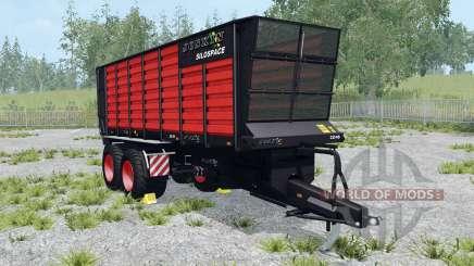 Joskin SiloSpace 22-45 Black Edition для Farming Simulator 2015