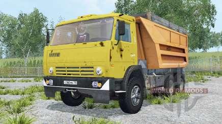 КамАЗ-55111 выбор цвета для Farming Simulator 2015
