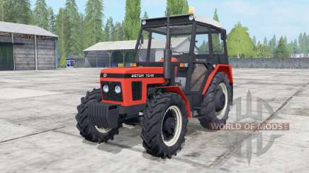 Zetor 6211-7245 configuration engine для Farming Simulator 2017