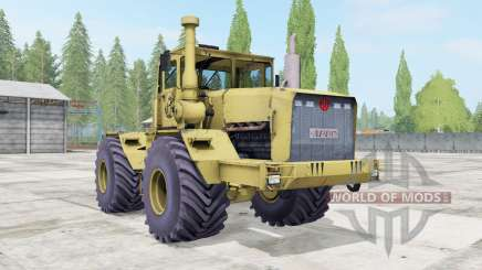 Кировец К-701 мягко-жёлтый окрас для Farming Simulator 2017