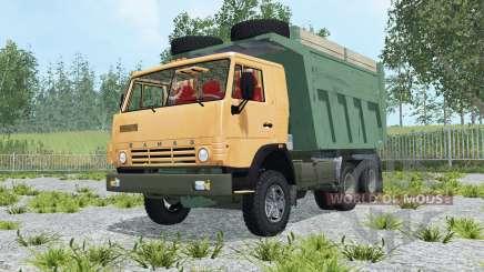КамАЗ-65115 наклон кабины для Farming Simulator 2015
