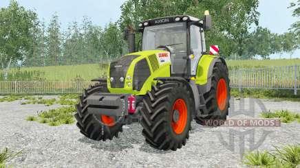 Claas Axion 850 foldable warning sign для Farming Simulator 2015