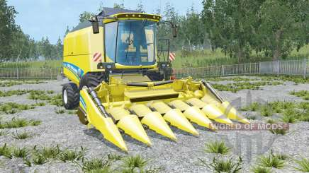 New Holland TC5.90 colored seats для Farming Simulator 2015