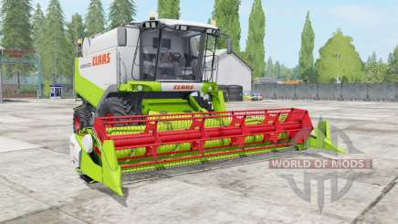 Claas Lexion 530 vivid lime green для Farming Simulator 2017