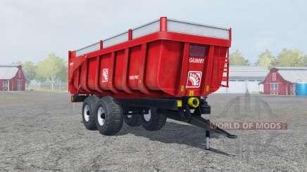 Gilibert 1800 Pro pigment red для Farming Simulator 2013