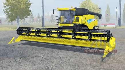 New Holland CR9090 titanium yellow для Farming Simulator 2013