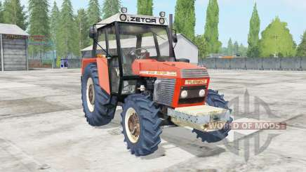 Zetor 8145 movable engine components для Farming Simulator 2017