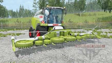 Claas Jaguar 980 change pipe для Farming Simulator 2015
