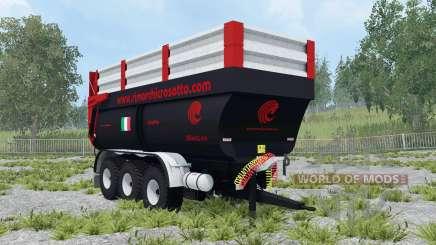 Crosetto CMR180 dynamic leaf springs для Farming Simulator 2015