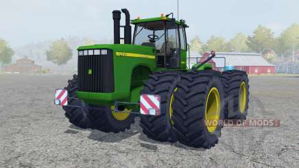 John Deere 9400 north texas green для Farming Simulator 2013