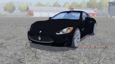 Maserati GranTurismo 2007 для Farming Simulator 2013