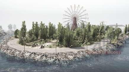Затерянный город v2.0 для MudRunner