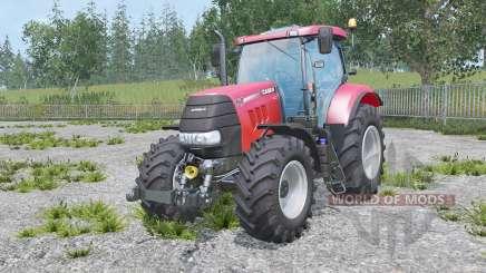 Case IH Puma 160 CVX real engine для Farming Simulator 2015