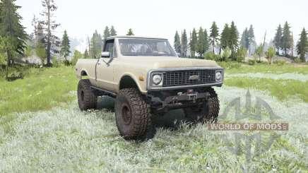 Chevrolet K10 1972 для MudRunner
