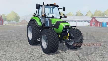 Deutz-Fahr Agrotron TTV 430 neue reifen〡felgen для Farming Simulator 2013