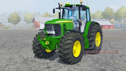 John Deere 7530 Premiuᶆ для Farming Simulator 2013