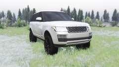 Land Rover Range Rover SVA LWB (L405) 2017 для Spin Tires