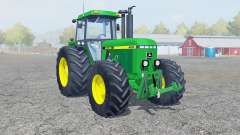 John Deere 4455 dark pastel green для Farming Simulator 2013