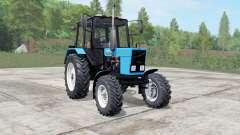 МТЗ-82.1 Беларус голубой окҏас для Farming Simulator 2017