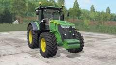 John Deere 7270R-7310R choice wheels для Farming Simulator 2017