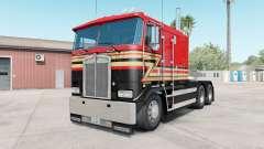 Kenworth K100E pigment red для American Truck Simulator