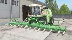 Krone BiG X 1100 bunkeᶉ capacity для Farming Simulator 2017