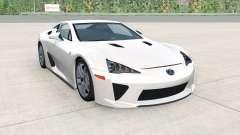 Lexus LFA 2012 для BeamNG Drive