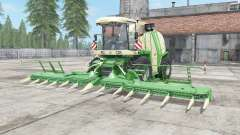 Krone BiG X 1100 chateau green для Farming Simulator 2017