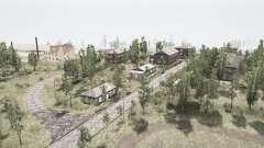 Поселок и Уральский хребет 2 для MudRunner