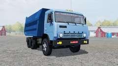 КамАЗ-55111 умеренно-синий окрас для Farming Simulator 2013