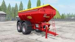 Bredal K165 narrow wheels для Farming Simulator 2017