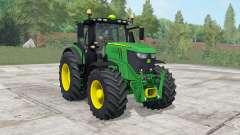 John Deere 6250R pantone green для Farming Simulator 2017