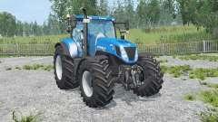 New Holland T7.270 new mirrors для Farming Simulator 2015