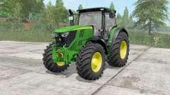 John Deere 6175R-6215R для Farming Simulator 2017