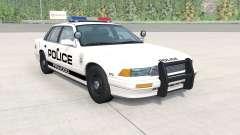 Gavril Grand Marshall Firwood Police v1.1 для BeamNG Drive