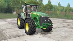 John Deere 8130-8530 real sound для Farming Simulator 2017