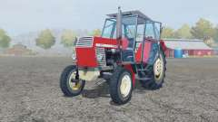 Ursus C-385 coral red для Farming Simulator 2013