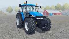 New Holland TM 190 deep sky blue для Farming Simulator 2013