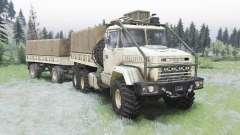 КрАЗ-6322 v1.5 для Spin Tires