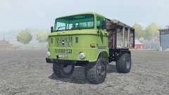 IFA W50 L olivine для Farming Simulator 2013