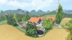 Wild Creek Valley v3.4 для Farming Simulator 2015