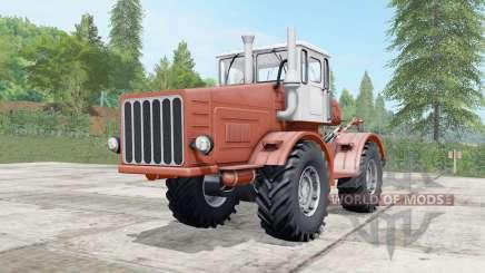 Кировец К-700 умеренно-красный окрас для Farming Simulator 2017