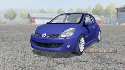 Renault Clio R.S. 2008 для Farming Simulator 2013