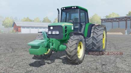 John Deere 6930 dual rear wheels для Farming Simulator 2013