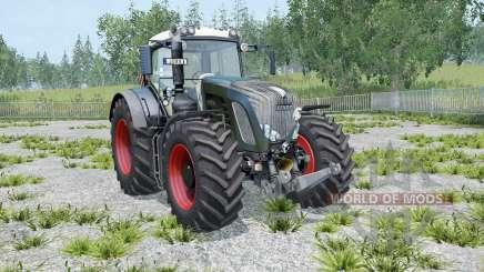 Fendt 936 Vario Black Beauty twin wheels для Farming Simulator 2015