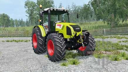 Claas Axos 330 la rioja для Farming Simulator 2015
