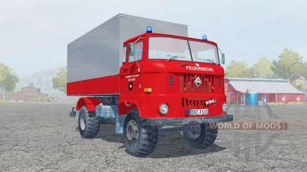 IFA W50 L Feuerwehr для Farming Simulator 2013