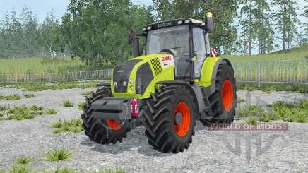 Claas Axion 850 key lime pie для Farming Simulator 2015