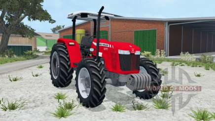 Massey Ferguson 4275 vivid red для Farming Simulator 2015